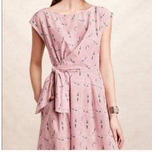 Anthropologie Maeve Bathing Beauties Dress NWOT